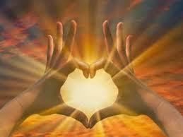 hart met vingers